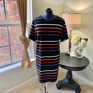 Old Navy Dresses - Old Navy Multicolored Striped Dress NWT Size XXL